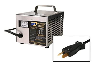 36volt 18 Amp Golf Cart Battery Charger with Crowfoot Connector