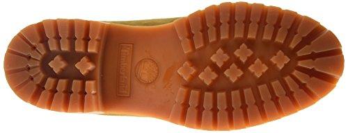 Timberland Menns Premium Dobbel Såle Vanntett Konstruksjon Arbeid Boot Dobbel Krave Rust Brun