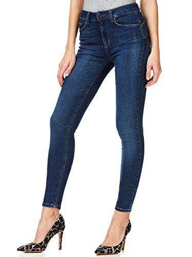 Liu jo - Blue Denim Divine Pantalon de talle corto para mujer turquesa