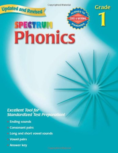 Amazon.com: Spectrum Phonics, Grade 1 (9780769682914): School ...