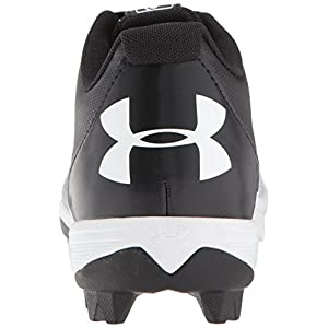 Under Armour Men's Leadoff Low RM, Black (011)/White, 10.5