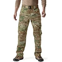 CQR Men's Tactical Pants Lightweight EDC Assault Cargo...