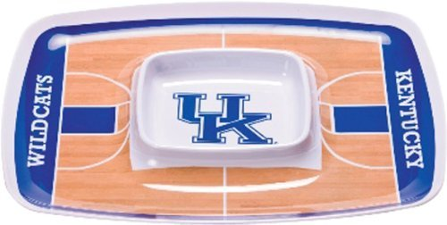 - NCAA Kentucky Wildcats Melamine Chip and Dip Tray