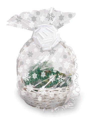Cello Basket Bag, Snowflake ()