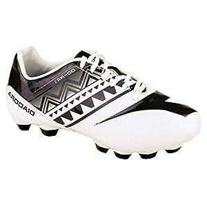 Diadora Kids' DD-NA 3 R LPU Junior Soccer Cleats (2.5 M US Little Kid, White, Black)
