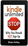 After using Kindle Unlimited, I have formed quite an opinion on why most people should not sign up. Even though KU seems like a steal at first glance, a closer look shows otherwise. Inside this short booklet (it's about 2600 words….short and straight...