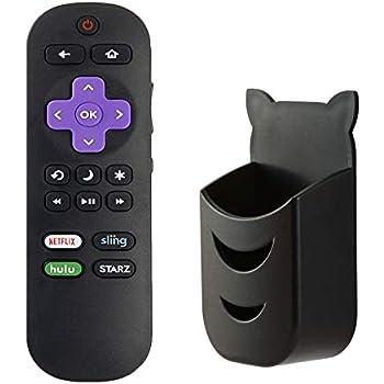 Amazon.com: Sharp LC-RCRUS-17 Roku TV Remote Control: Home