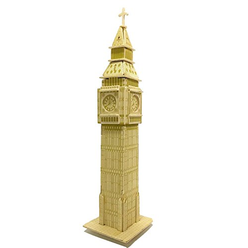 3D Puzzle BIG BEN, Puzzle en Madera, Juguetes del kit de Construcción de Woodcraft, Juguetes de los niños, El Mejor Regalo