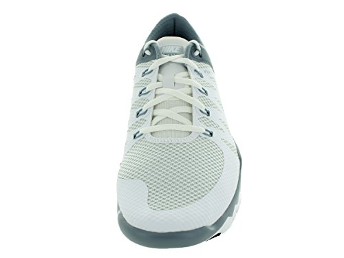 Nike Free Trainer 5.0 V6 Laufschuhe white-white-dove grey- pure platinum- 41 Bianco