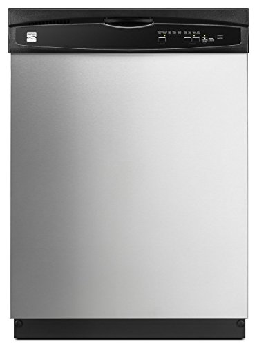 Kenmore 2217383 24″ Built-In Dishwasher, Stainless Steel