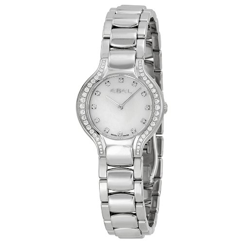 Ebel New Beluga Mini White Dial Stainless Steel Bracelet Ladies Watch