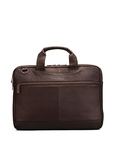 Kenneth Cole Reaction Double-Sided Colombian Top Zip Computer Ipad Tablet Case, Brown, One Size