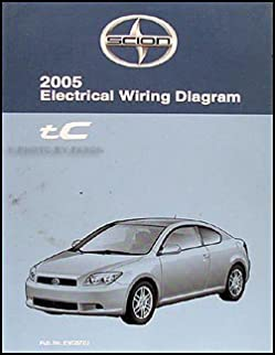 2005 scion tc wiring diagram manual original amazon com books rh amazon com 2015 scion tc wiring diagram 2011 scion tc radio wiring diagram