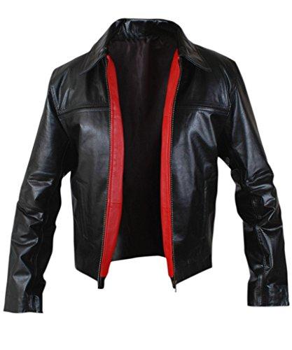 [F&H Men's Daniel Craig Layer Cake Jacket M Black] (M James Bond Costume)