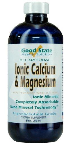 Bonne calcium État liquide ionique et le Supplément de magnésium minéraux, 8 Fluid Ounce
