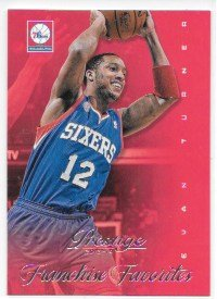 Evan Turner 2013-14 Prestige Franchise Favorites Philadelphia 76ers Insert Card #23