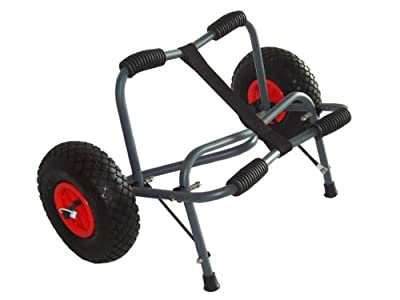 Gear Up Extreme HD Kayak Cart, Silver/Black