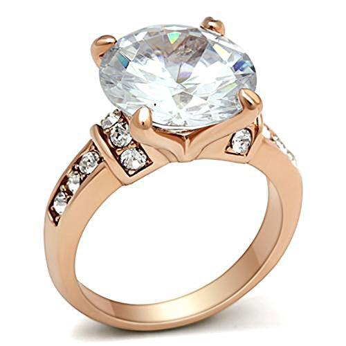 Buy russian simulated diamond ring