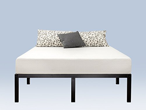 Zinus Yelena 14 Inch Classic Metal Platform Bed Frame with Steel Slat Support / Mattress Foundation, King
