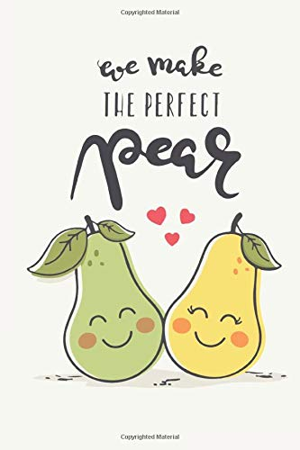 Food Illustration 8x10 Perfect Pear Kitchen Decor Valentines Day Perfect Pair Custom Wedding Gift Watercolor Art Print