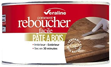 veraline pate a bois chene clair 450g
