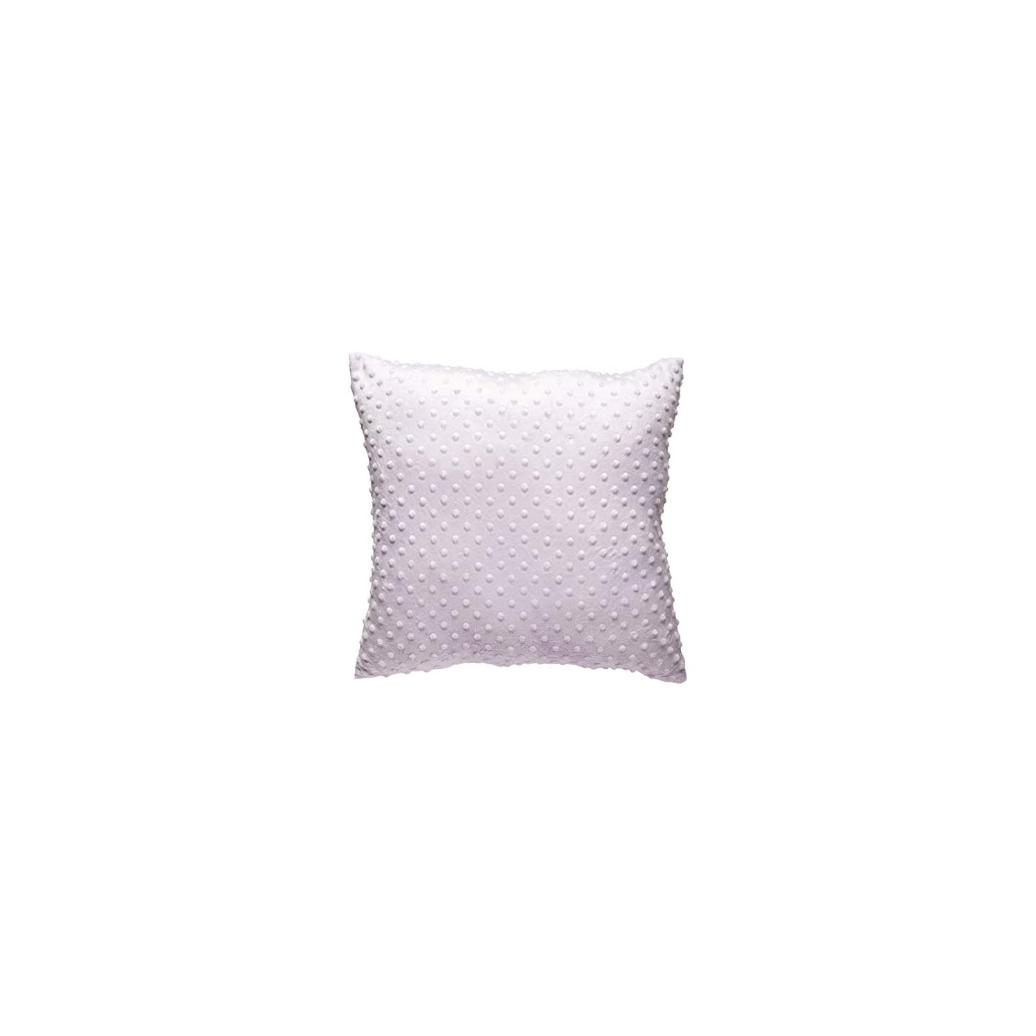 Baby Doll Bedding Heavenly Soft Crib Throw Pillow, Lavender