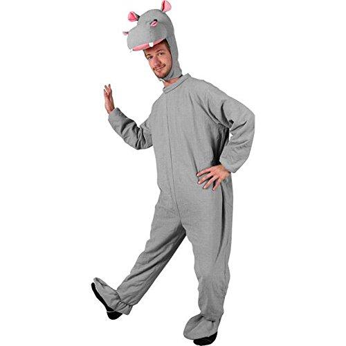 (Adult Hippo Halloween Costume (Size: Standard)