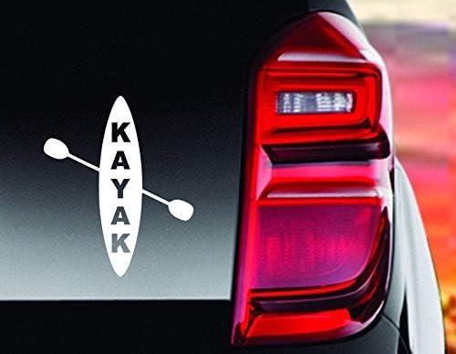 Kayak Laptop Sticker Kayak Life Sticker Kayak Sticker Kayak Decal Easy to Apply and Removable Kayak Kayak Life Decal Kayak Bumper Sticker