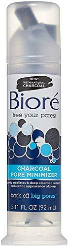 Biore Charcoal Pore Minimizer 3.11 oz (Pack of 4)