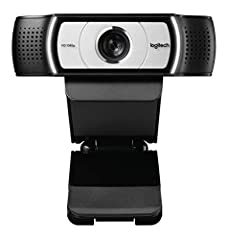 Logitech C930e 1080P HD Video Webcam - 90-Degree Extended View, Microsoft Lync 2013 and Skype Certified System Requirements: Windows 7 Windows 8 or Windows 10Mac OS X 10.7 or higherChrome OS Version 29.0.1547.70 and higher2 GB RAM or moreHard...
