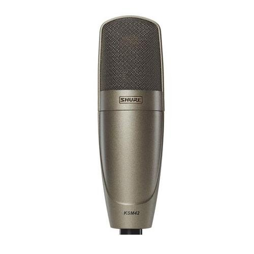 Shure KSM42/SG Large Dual-Diaphragm Side-Address Condenser Vocal Microphone by Shure