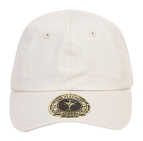 TopHeadwear Infant Cargo Baseball Hat - Stone