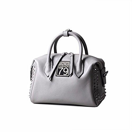 (Naladoo Women's New Pillow Leather Bag Vertical Deluxe Strap Cross Body Bag)