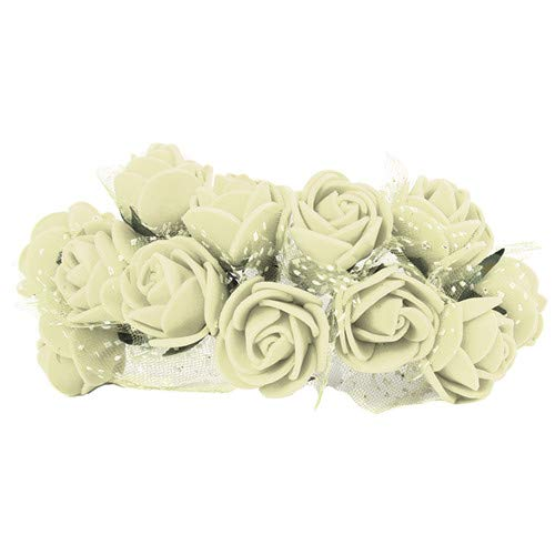 Aosreng 144Pcs Mini PE Foam Roses Multi-Use Artificial Flower Heads Handmade DIY Wreath Wedding Decoration Home Garden Supplies 2 from Aosreng