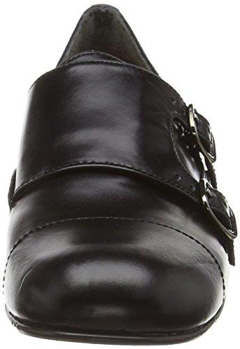 Chie Mihara beatnik - Zapatillas de casa de piel mujer negro - Schwarz (twig negro)