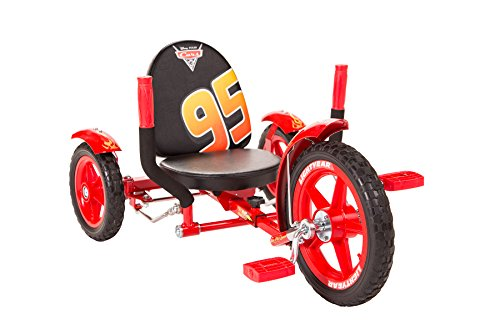 Mobo Tot Lightning McQueen Toddler 3 Wheel Ride On Trike. Disney Pixar Cars, Red