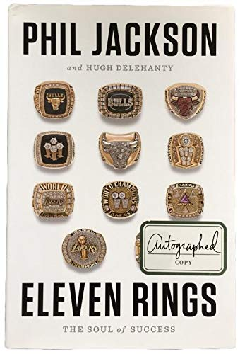 Phil Jackson Autographed Signed Eleven Rings: The Soul Of Success Book Bas Certified Authentic