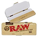 "RAW Brand Storage Tin for 1.25"" Classic Rolling Papers"