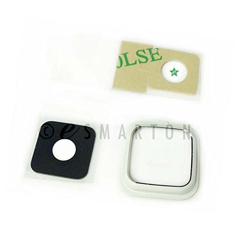 (ePartSolution_Camera Cover Lens Glass Cover for Samsung Galaxy Note 4 N910T N910 N910A Replacement Part USA Seller (White))