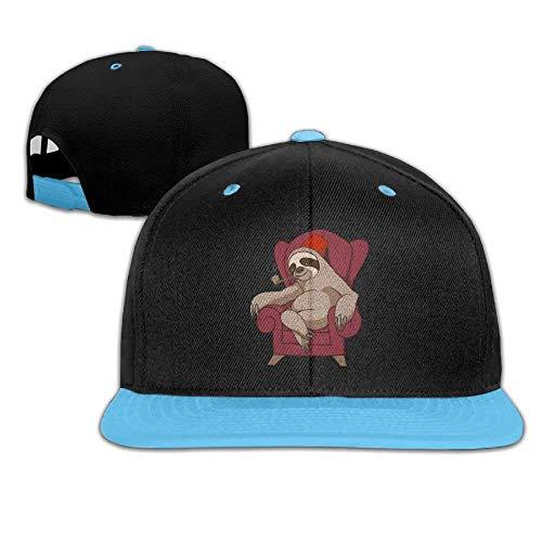 (D.Neal. Hip Hop Baseball Cap Sophisticated Sloth Trucker Flat Hats for Boys Girl)