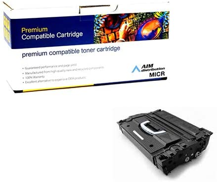 AIM Compatible MICR Replacement for Troy MICR 9000//9050 Toner Cartridge 30000 Page Yield - Generic 02-81081-001