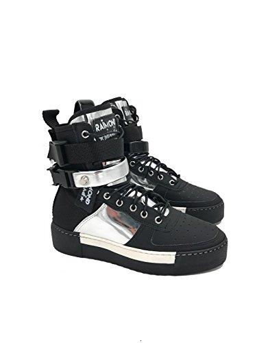 Argento Drive Donna Ocean Eu Nero Raimond Sneakers Miami Alta Florida 40 4vBOqAw
