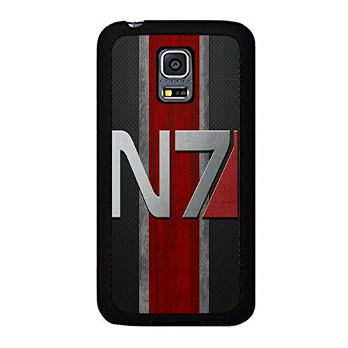 Coque Samsung Galaxy S5 Mini N7 Unique Design Cover Shell Hipster Refined Background RPG Game Mass Effect N7 Logo Design Phone Case Cover for Coque Samsung Galaxy S5 Mini,Cas De Téléphone