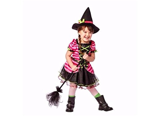Toddler Girls Whimsical Witch Halloween Costume includes Dress and Hat (Target Costumes Halloween)