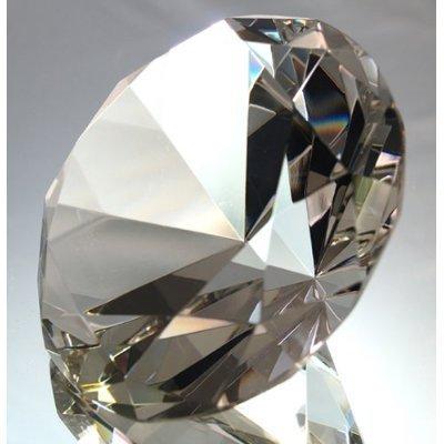80mm Original Crystal Diamond Jewel Paperweight