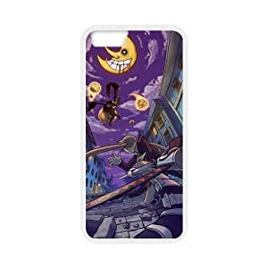 MeowStore Japanese Cartoon Soul Eater Blair Maka Albarn Horror Moon Face Bloody Iphone 6 (4.7 inch) Case Cover Phone Case Shells BY supermalls