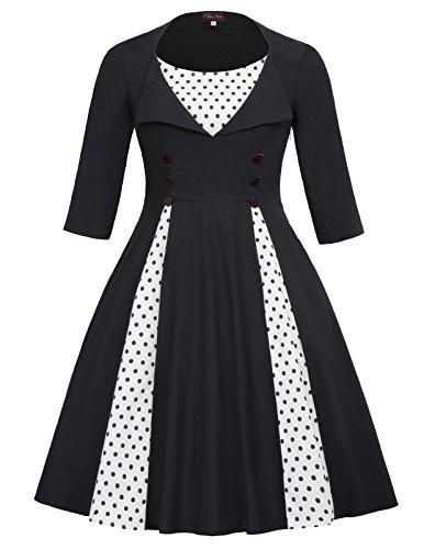 50s style dress plus size - 3