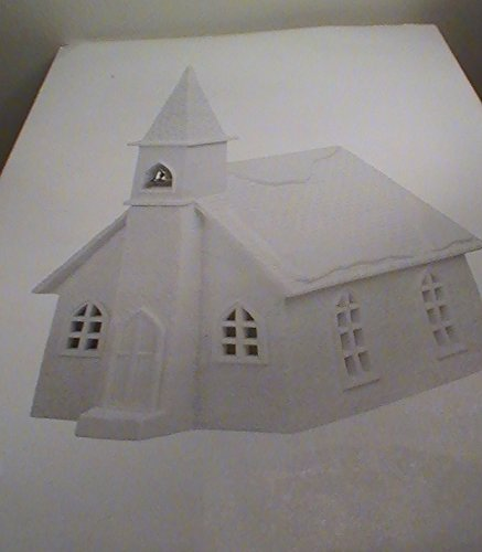 Department 56 Winter Silhouettes Church with Lights