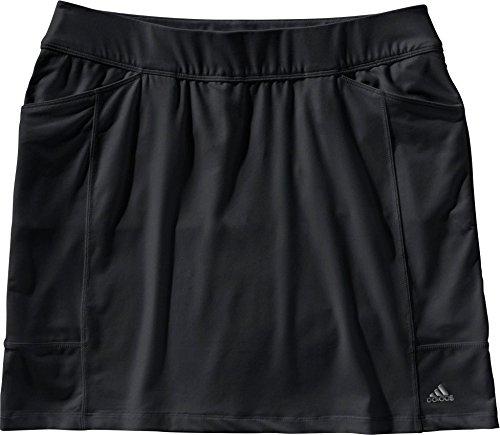 adidas Women's Advantage Golf Skort (L, Black) by adidas