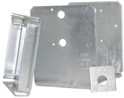 USP Structural Connectors PAU66-TZ G185-Triple Zinc Galvanized High Uplift Post Anchor